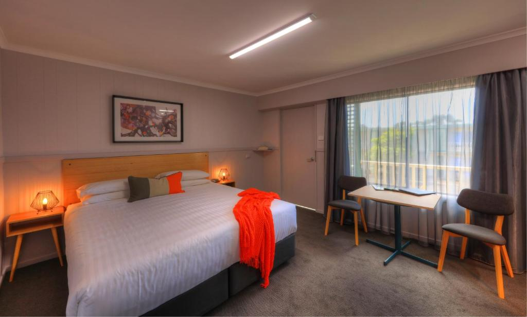 A bed or beds in a room at Best Western Burnie