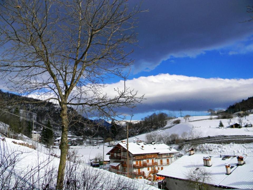 Casa Valentina v zimě