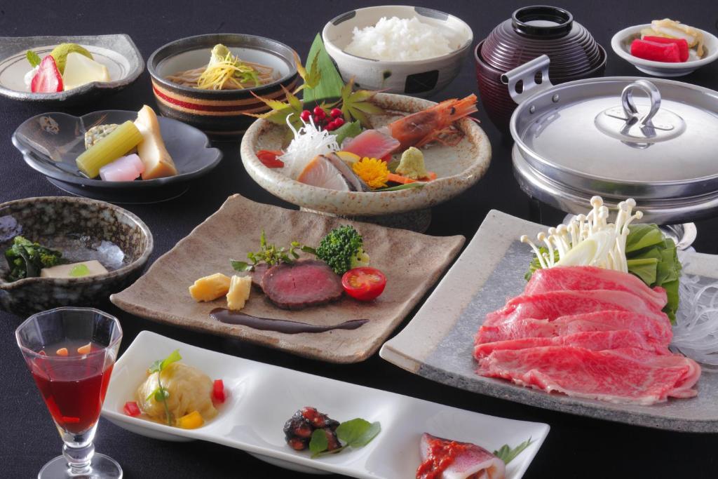ポイント1.最高の飛騨牛料理を味わえるコース