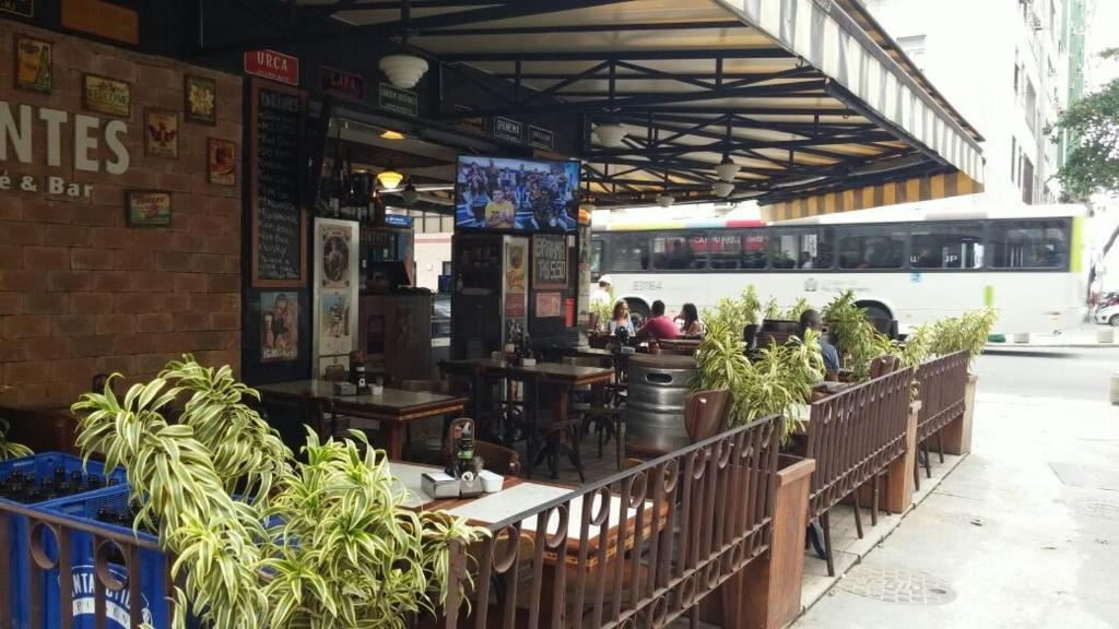 Loungen eller baren på Copa´s Apartment