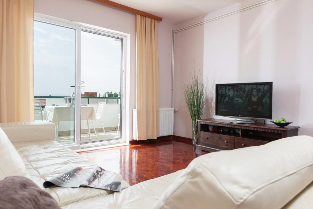TV i/ili zabavni centar u objektu Apartment Zoran
