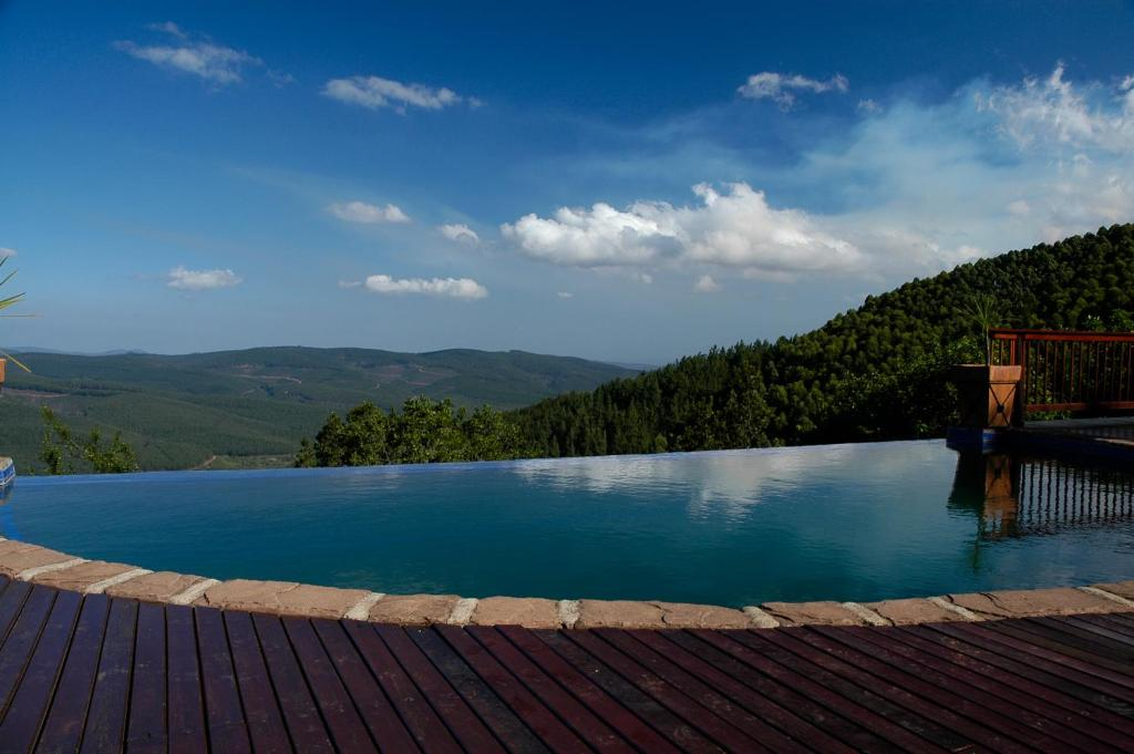 The swimming pool at or near Misty Mountain