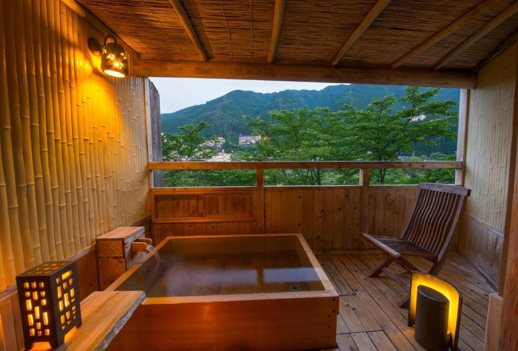 ポイント3.露天風呂付のラグジュアリールーム