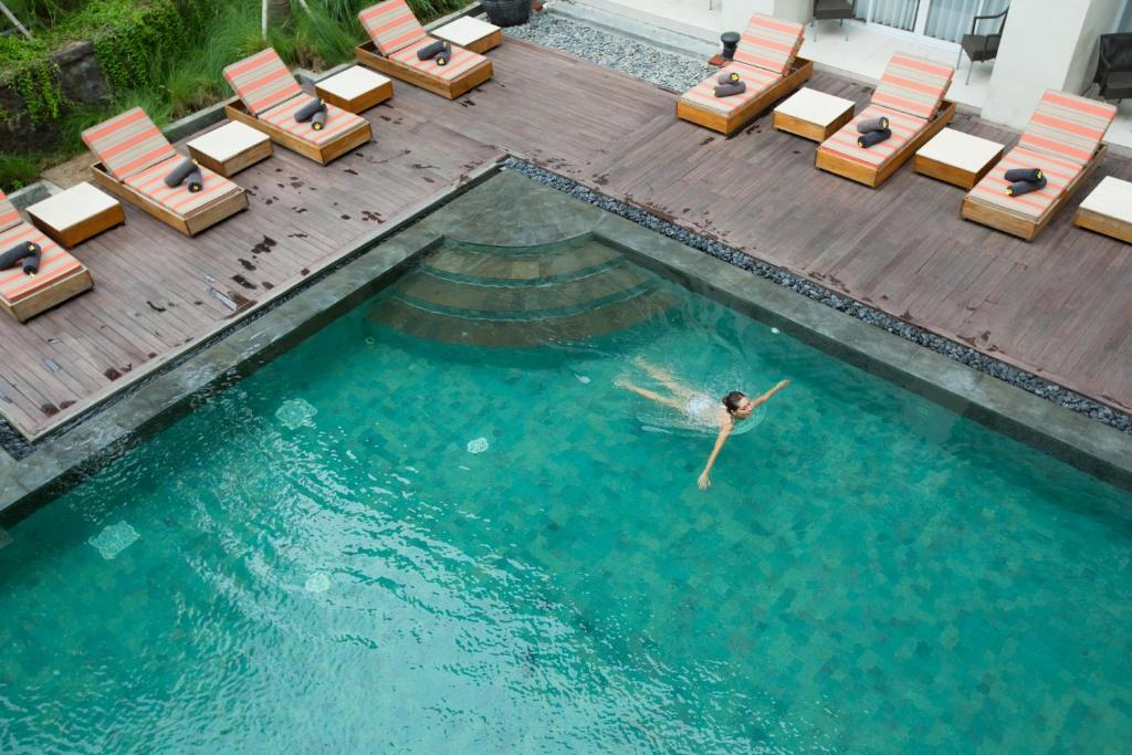A view of the pool at Bali Paragon Resort Hotel or nearby
