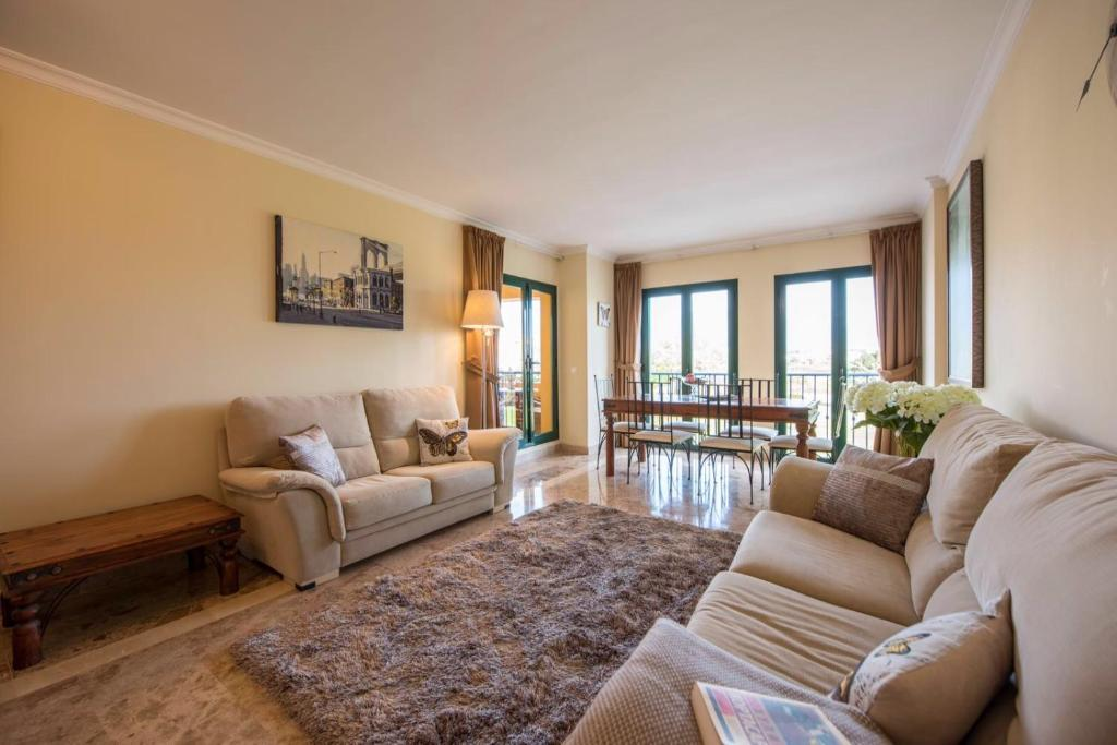 Zona d'estar a Apartment in Marbella