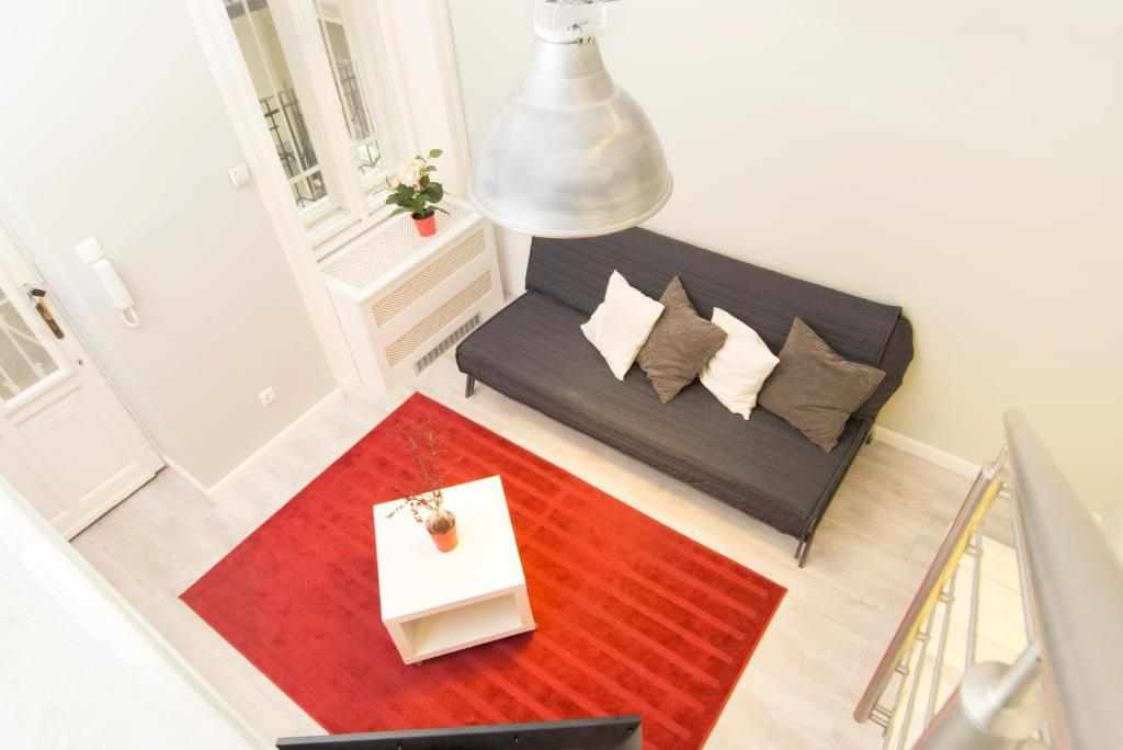 A seating area at Apartment Julia