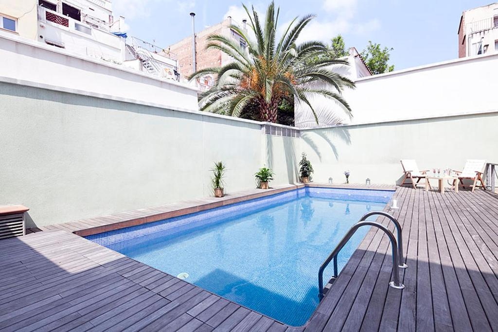 Apartment My Space Barcelona Gracia Pool Terr, Spain ...