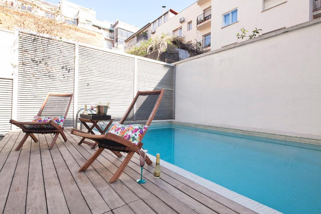 My Space Barcelona Private Pool Garden imagen