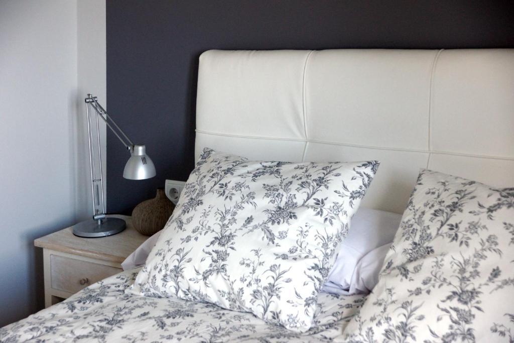 Cama o camas de una habitación en Costa Caion
