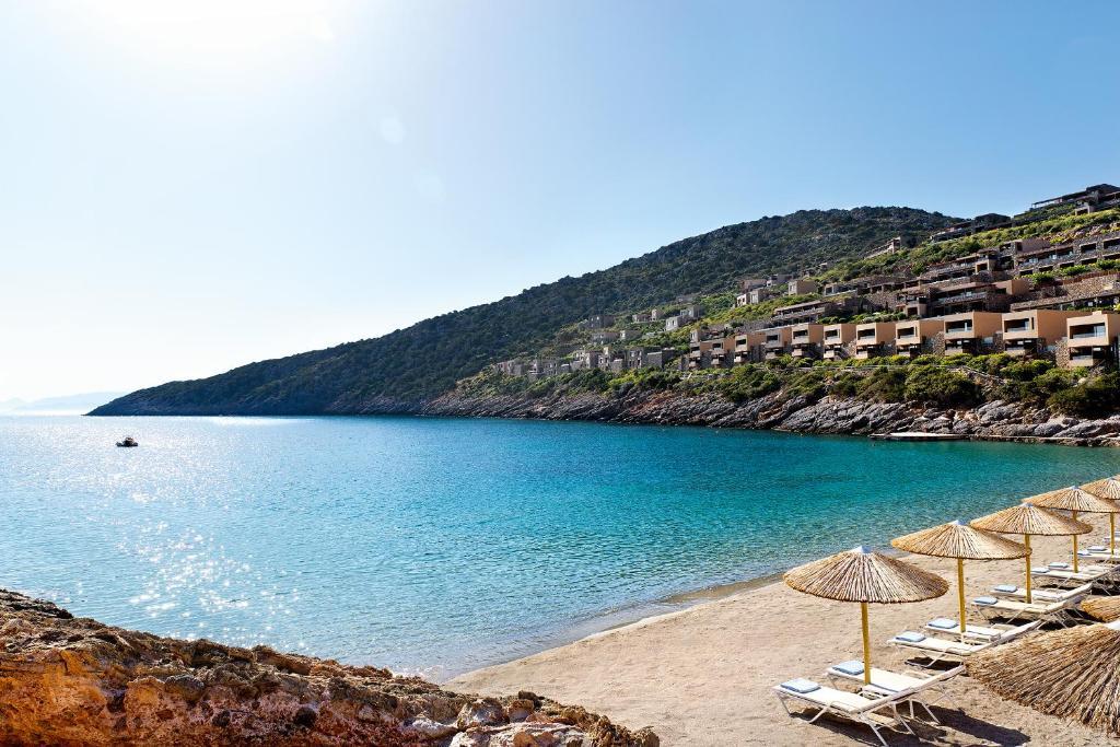 Daios Cove Luxury Resort Agios Nikolaos Greece Booking Com