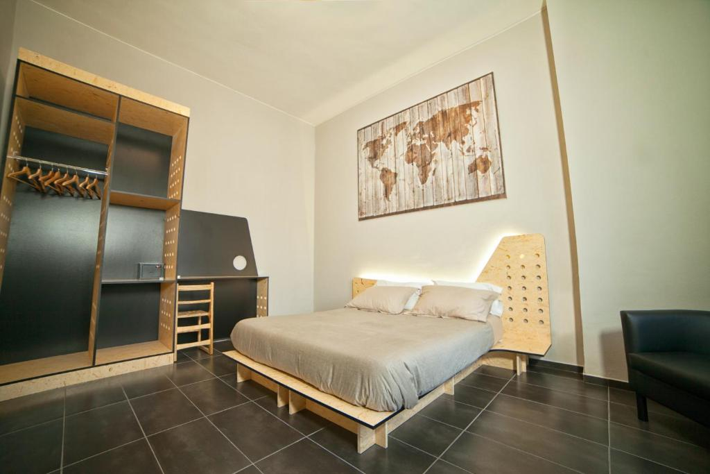 Bed And Breakfast Factory Design Naples Italy