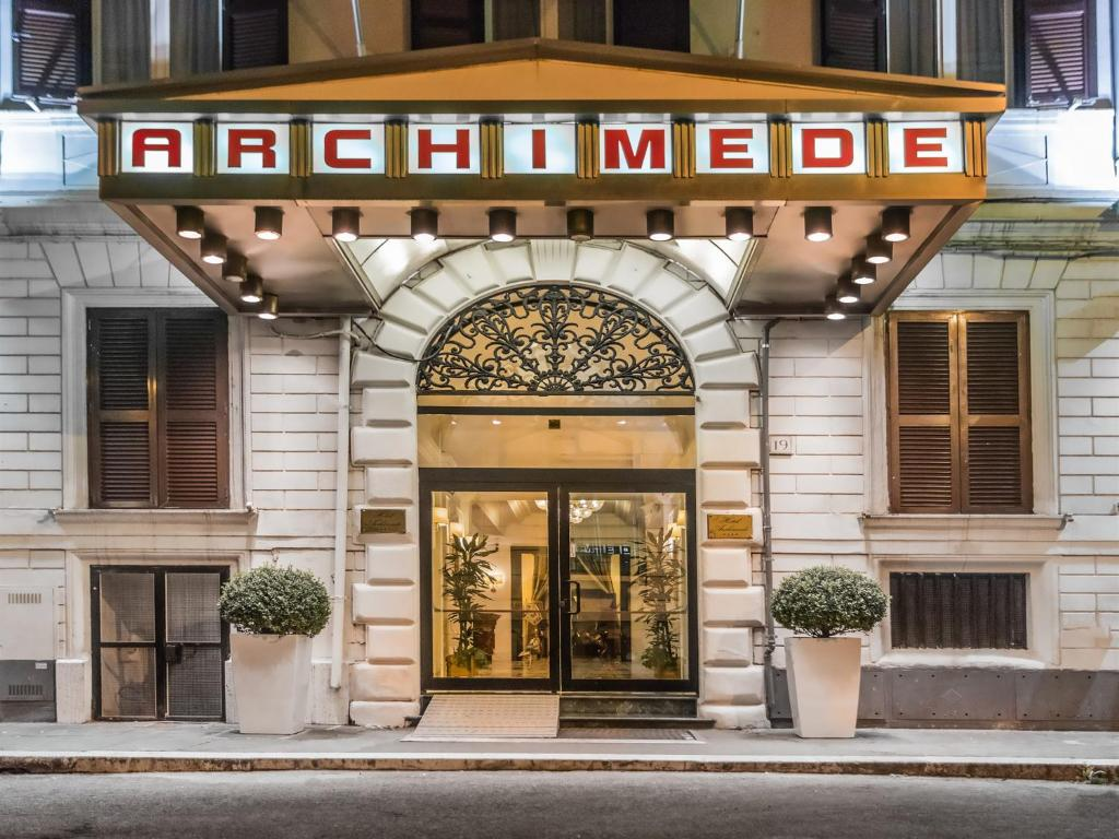 Hotel Archimede Rome Booking
