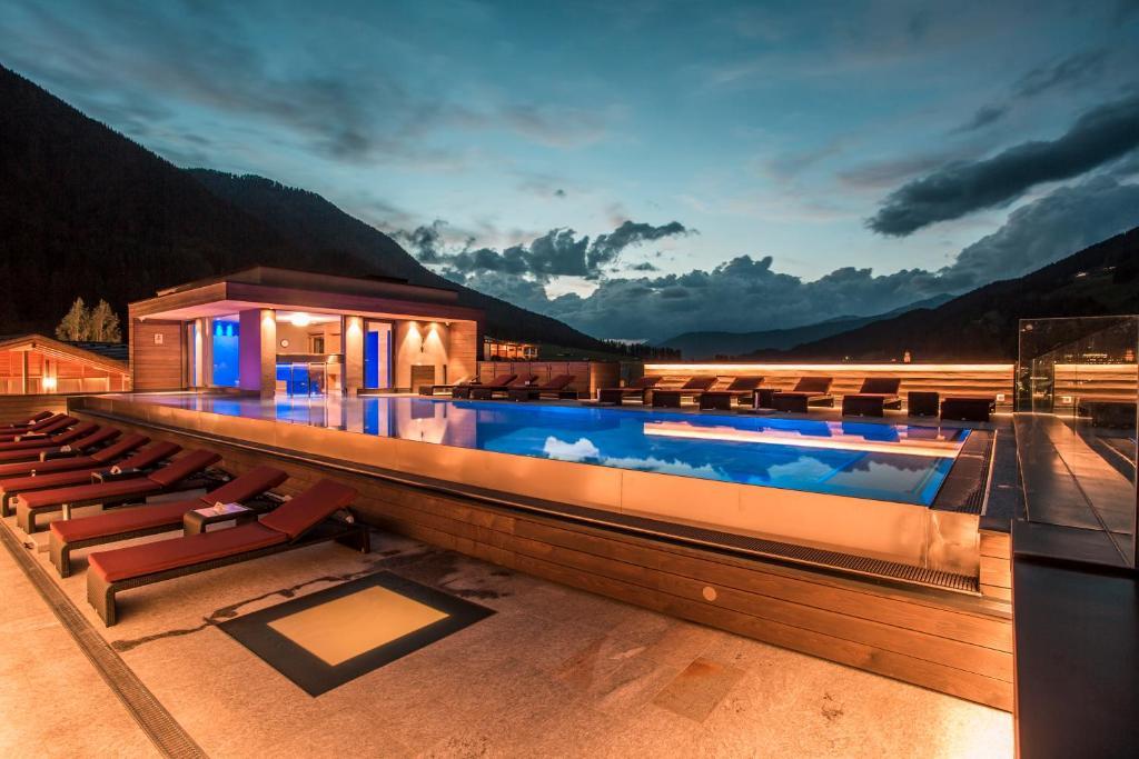 The swimming pool at or near Hotel Monika