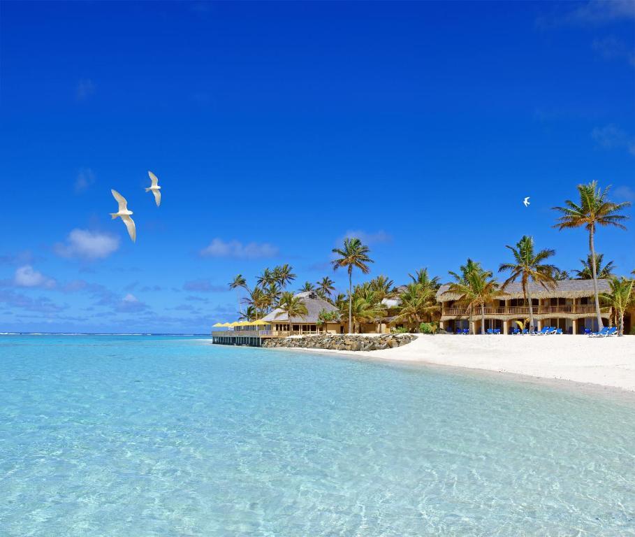 Cook Islands Beaches: Resort Sanctuary Rarotonga, Cook Islands