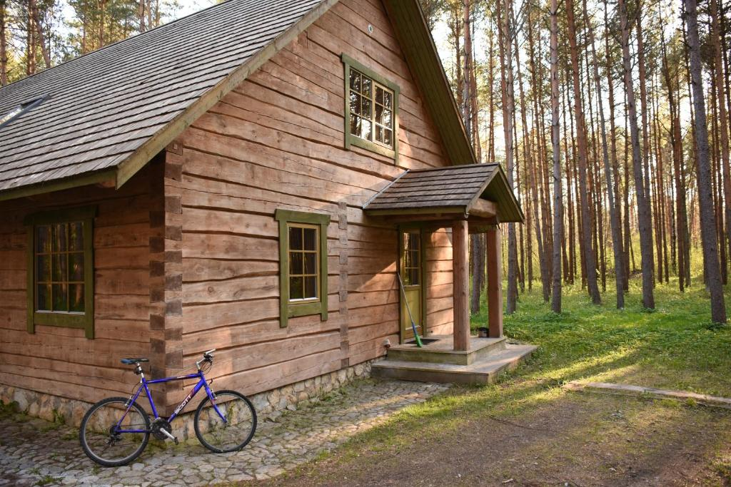 Vacation home m ndjala forest house estonia for Forest house