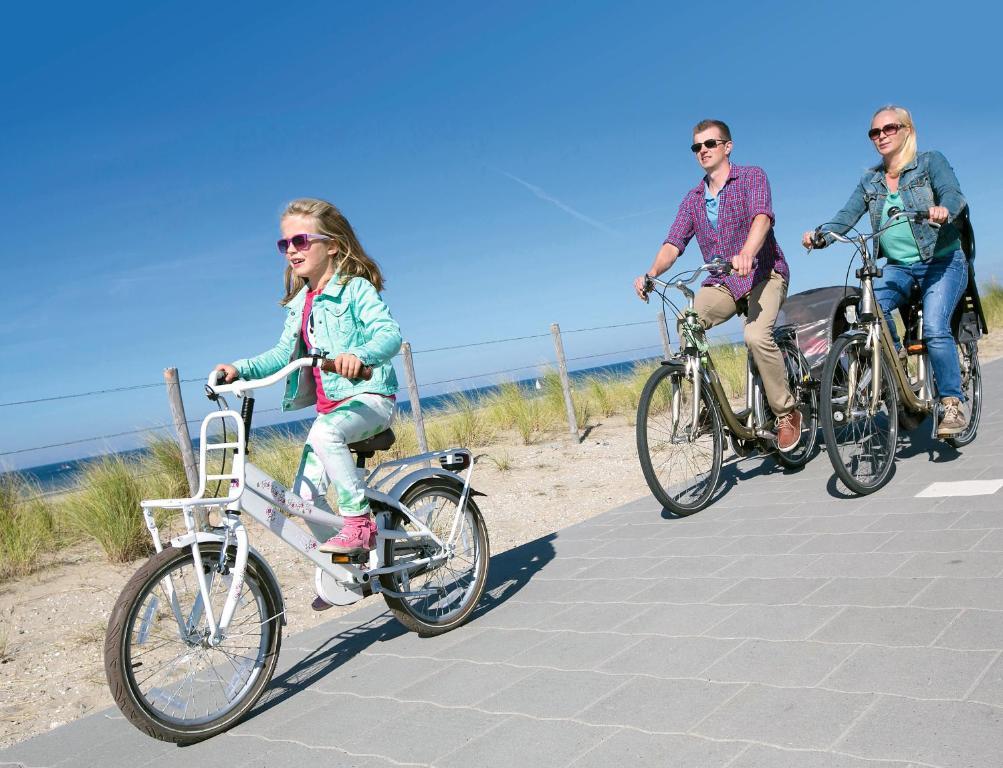 Attività di ciclismo presso il villaggio turistico o nelle vicinanze