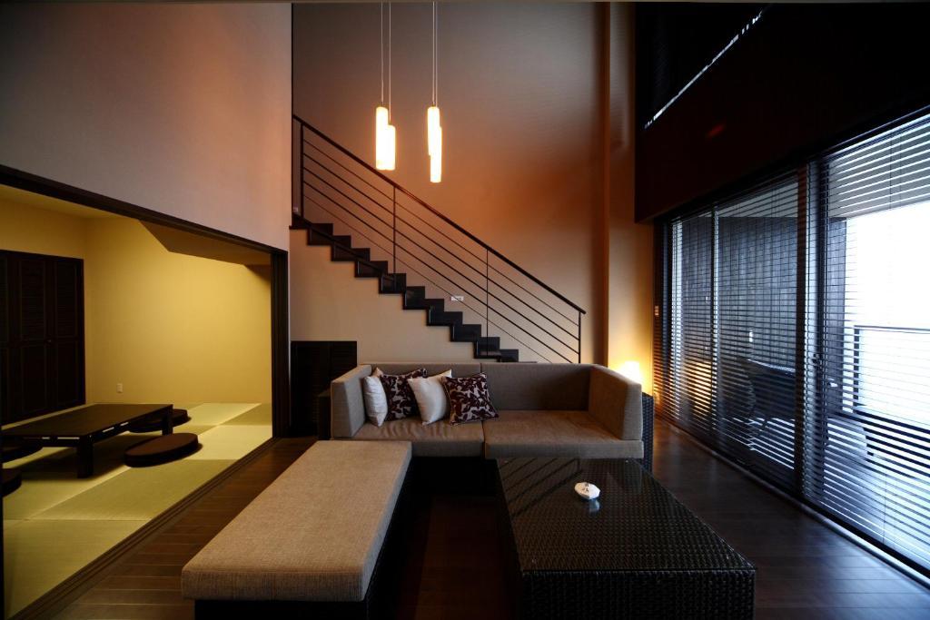 ポイント3.メゾネットが珍しい贅沢な客室