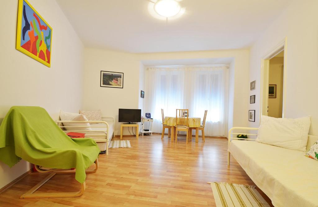Living Room Zagreb apartment art, zagreb, croatia - booking