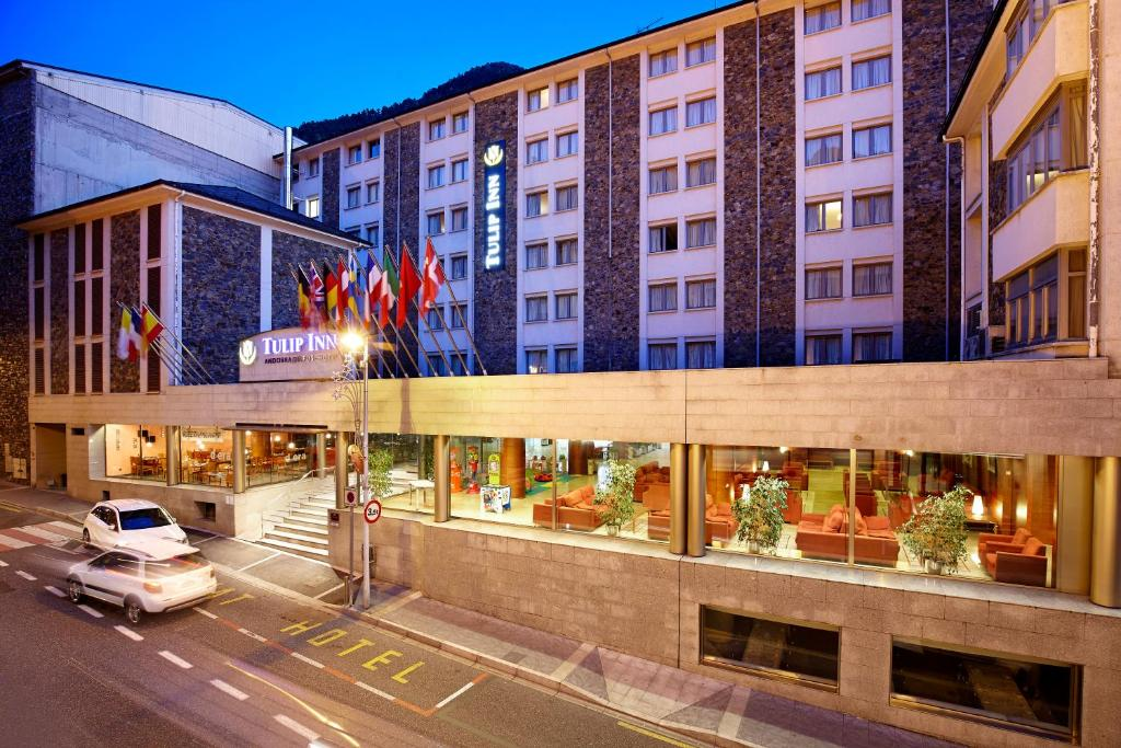 Tulip inn andorra delfos andorra la vella andorra deals from gallery image of this property sciox Choice Image