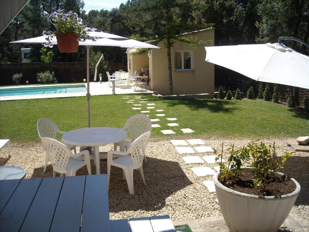 Villa avec piscine priv e au sel uchaux for Piscine privee