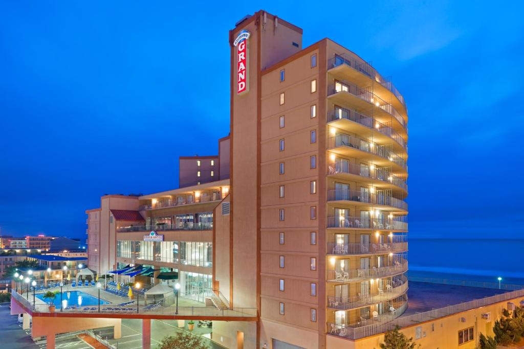 Ocean City Hotels >> Grand Hotel Ocean City Md Booking Com