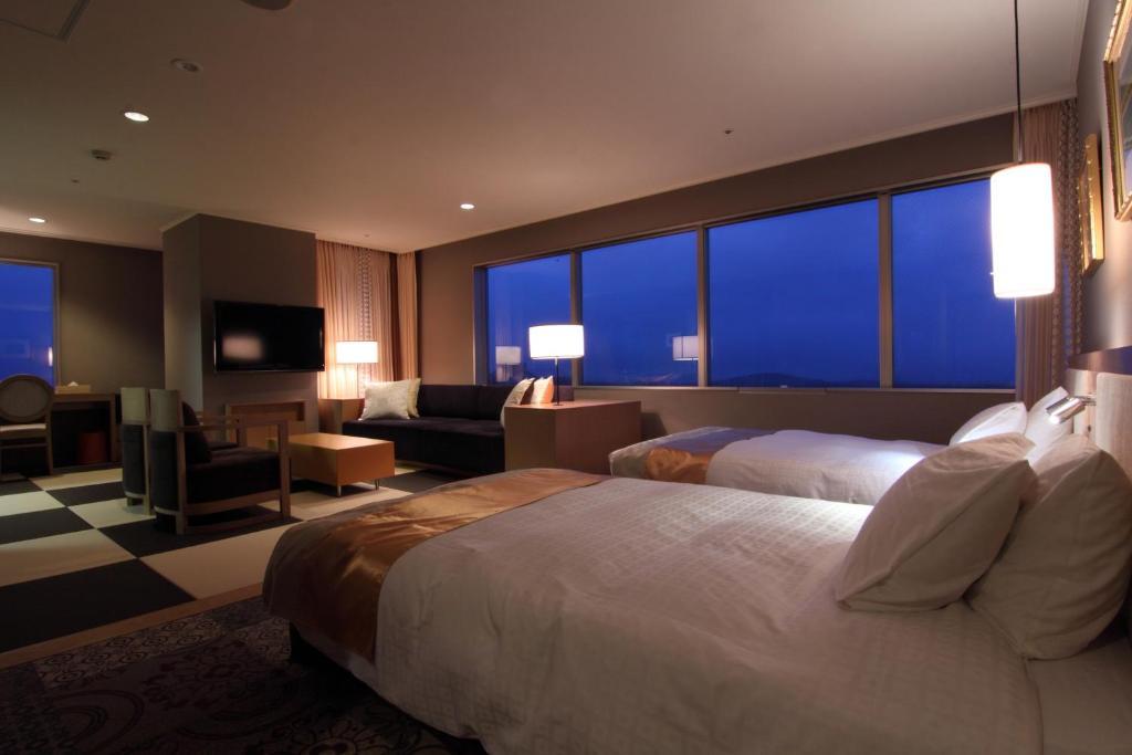 ポイント3.那須の大自然を望むテラスのある客室