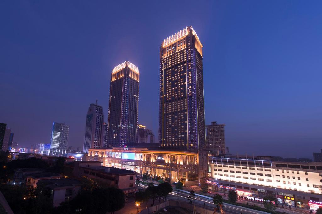 Hilton Zhongshan Downtown, China - Booking.com