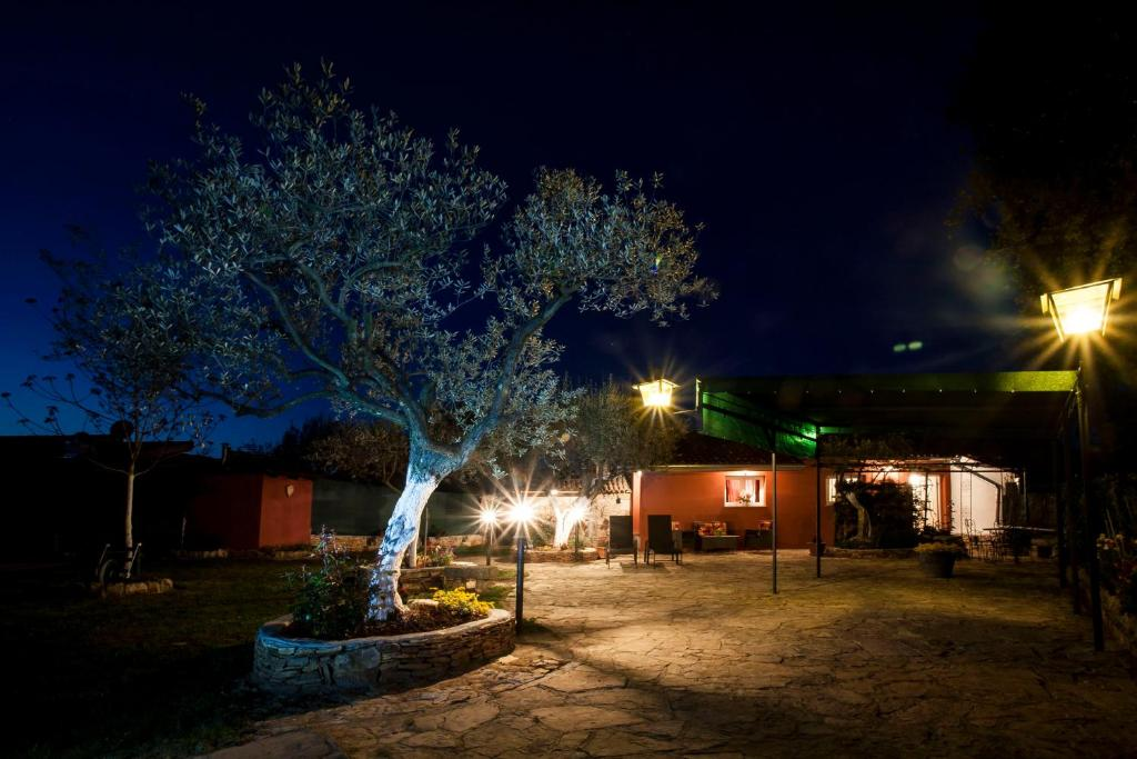 Terren Feuerstelle | Ferienhaus Casa Terren Grande Kroatien Rovinj Booking Com