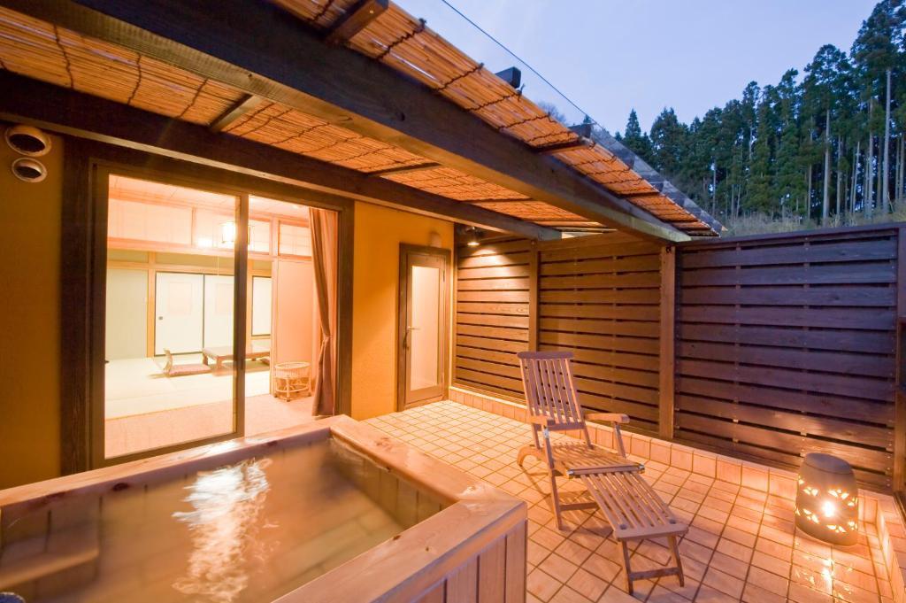 ポイント2.全室に露天風呂がついた客室
