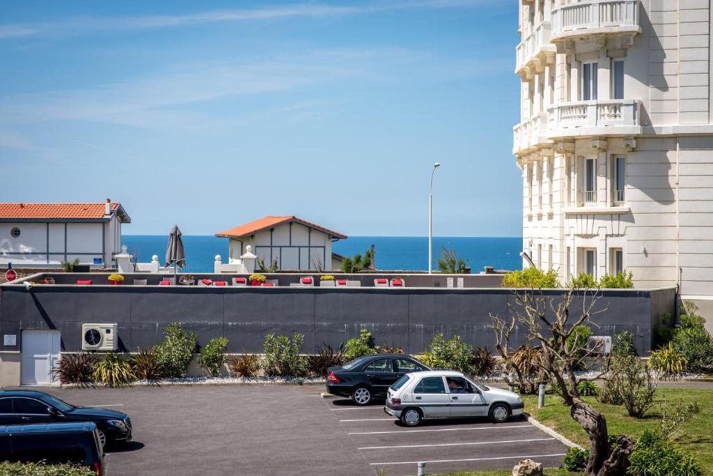 Appartement studio biarritz vue mer france biarritz for Abritel biarritz studio