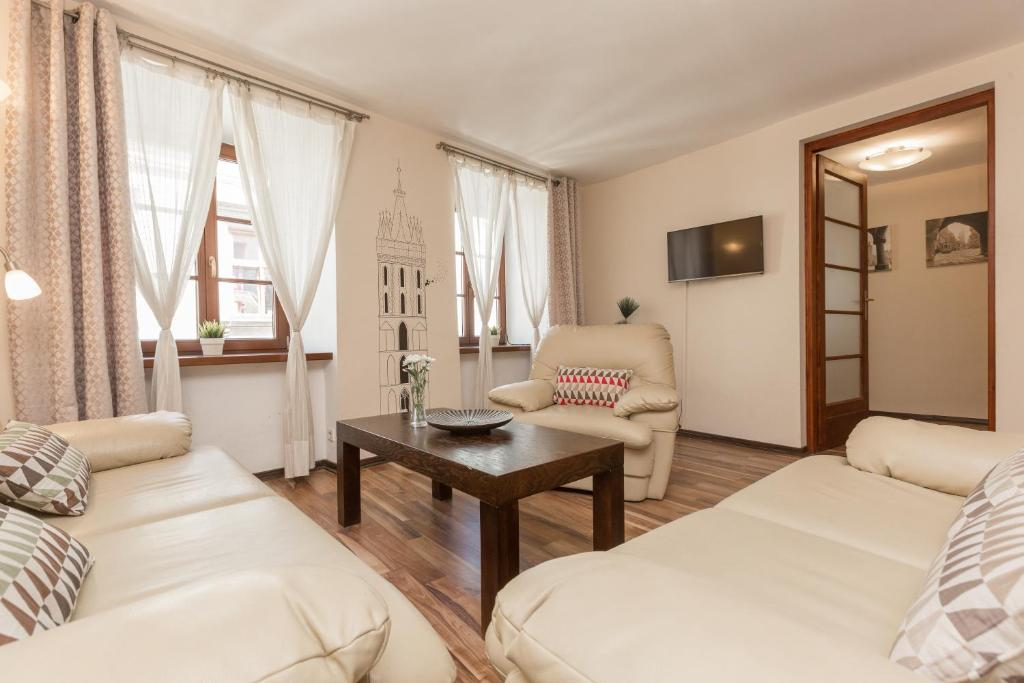 XIV Main Market Square Apartments Krakw Poland  Bookingcom