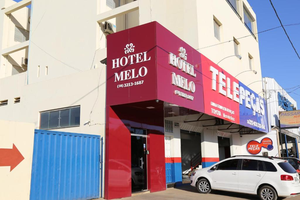 The facade or entrance of Hotel Melo