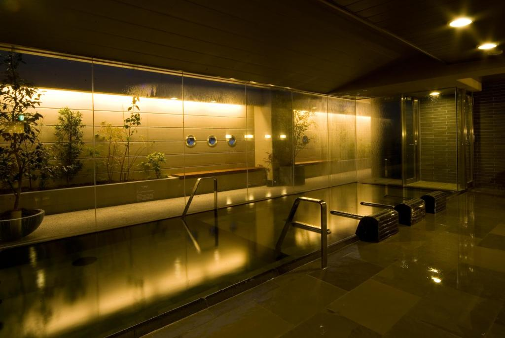 ポイント1.最上階にある天然温泉の露天風呂