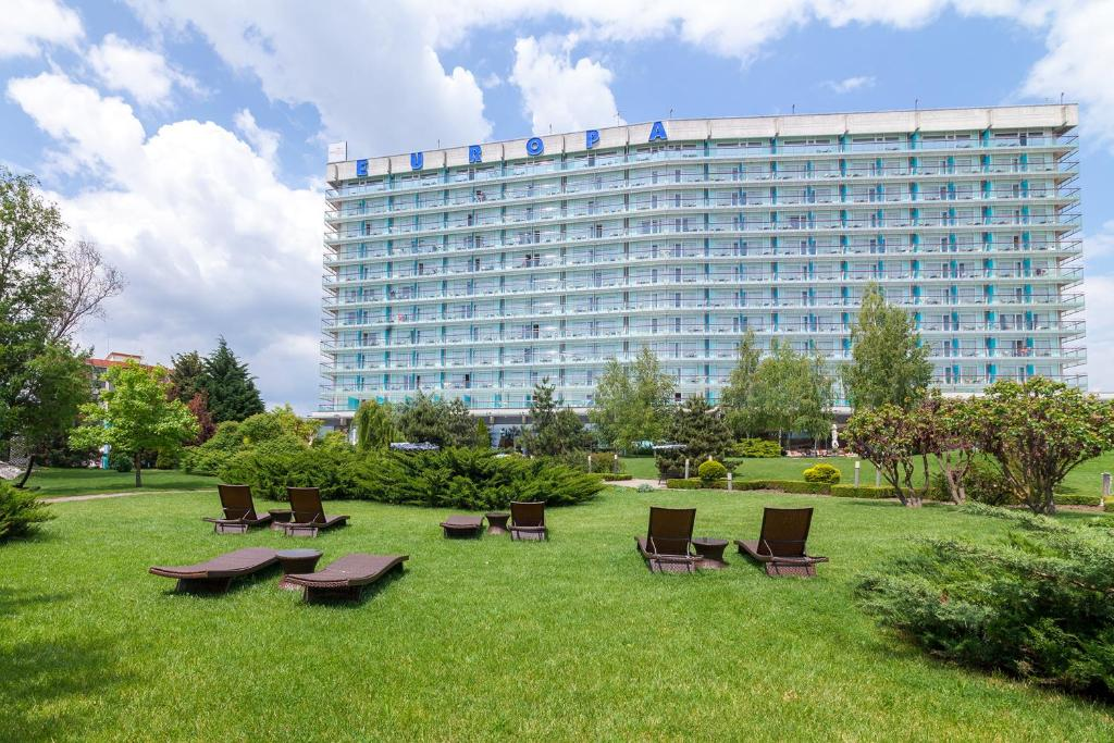 O grădină în afara Ana Hotels Europa Eforie Nord