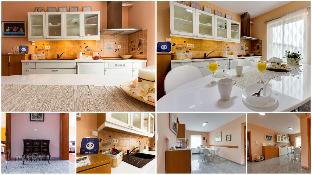 A kitchen or kitchenette at Rooms Stanic
