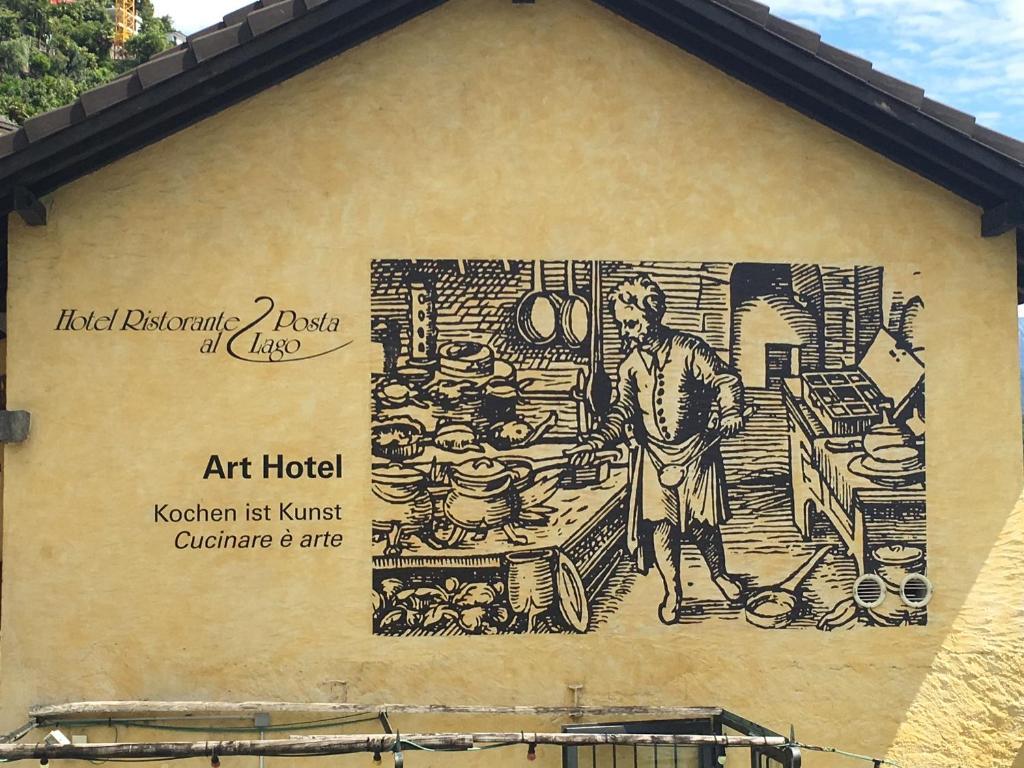 Art Hotel Ristorante Posta Al Lago, Ronco sopra Ascona, Switzerland ...