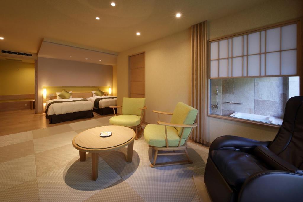 ポイント1.2つの雰囲気を持つ上質な客室