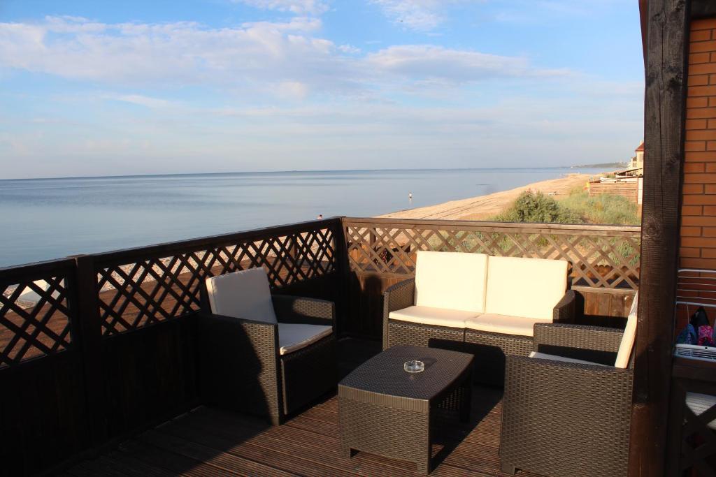 Патио или другая зона на открытом воздухе в Гостевой Дом «Villa Grape»