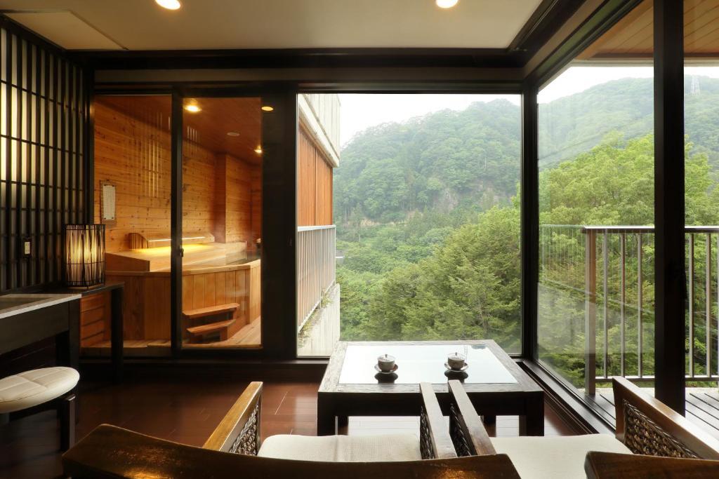 ポイント1.お風呂にこだわった特別客室