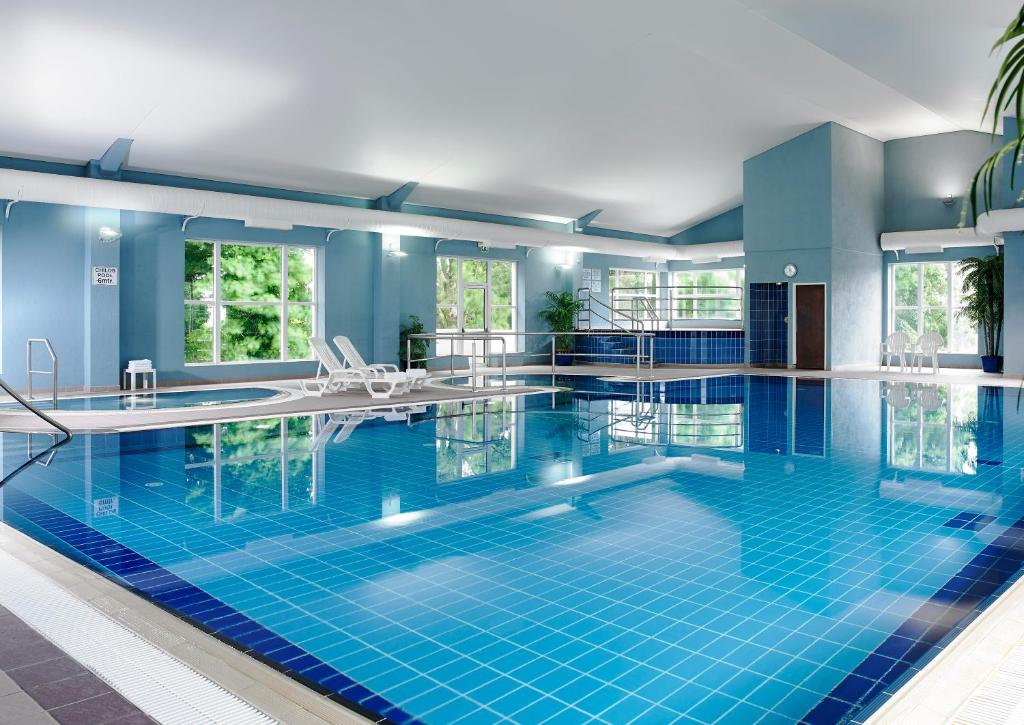 The swimming pool at or near Hotel Woodstock Ennis