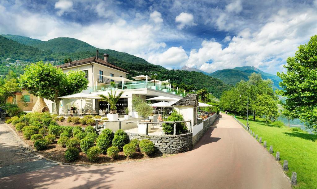 Hotel Giardino Lago Locarno Switzerland Booking Com