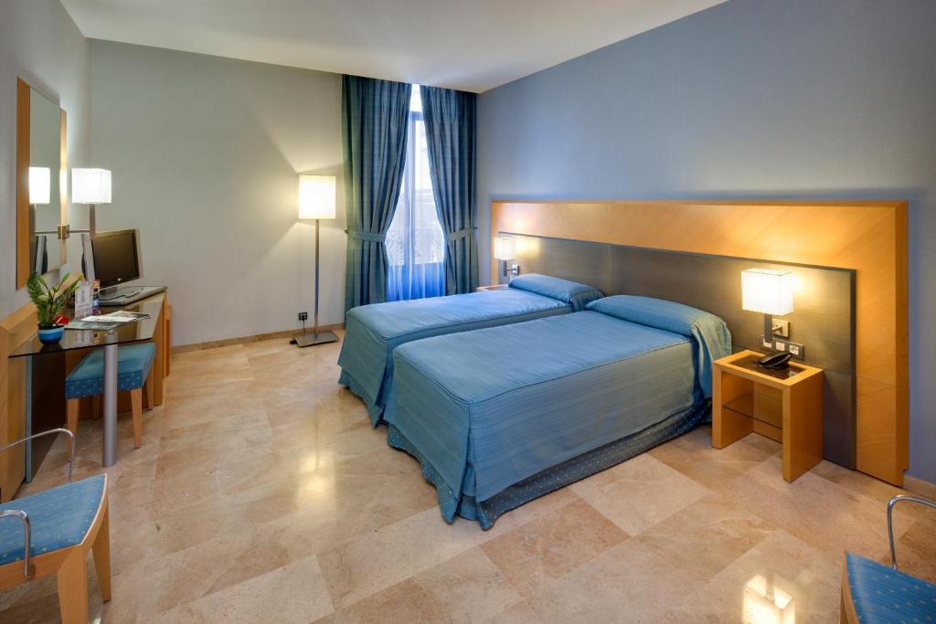 Ein Zimmer in der Unterkunft Hotel del Mar