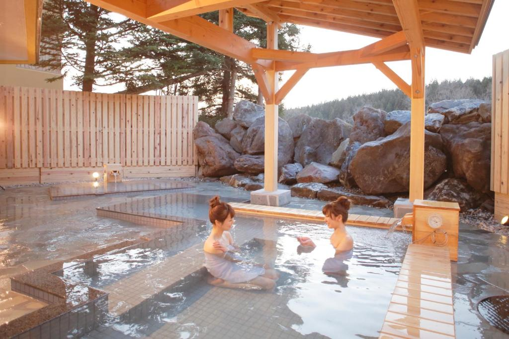 ポイント1.趣向を凝らした温泉