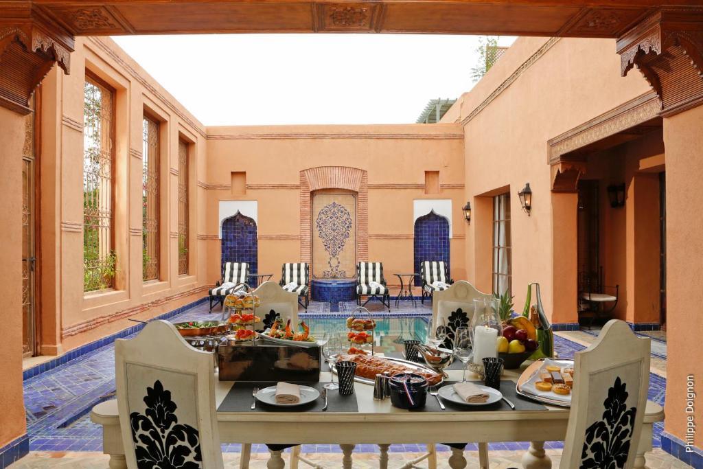 Villa secret garden marrakesh morocco for Secret hotel booking