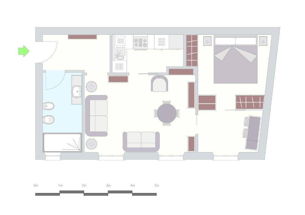 Corso XXII Marzo Apartment