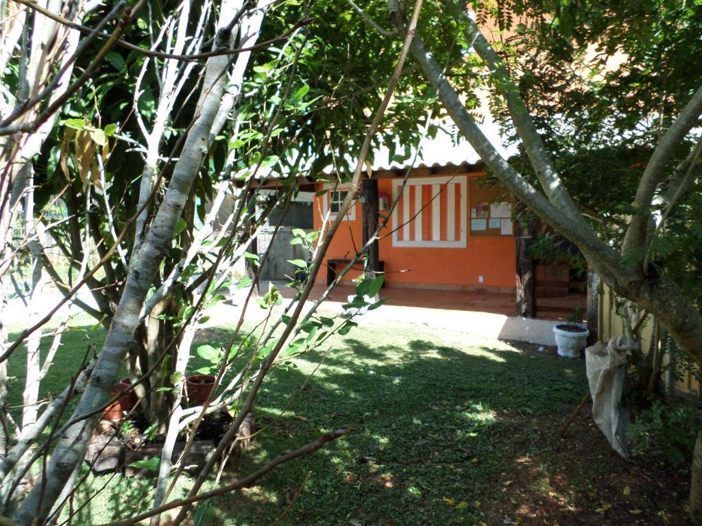 A garden outside Pousada Verdes Matas