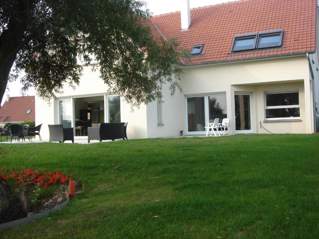 Jardin de l'établissement Chambres d'Hôtes La Villa des Hortensias
