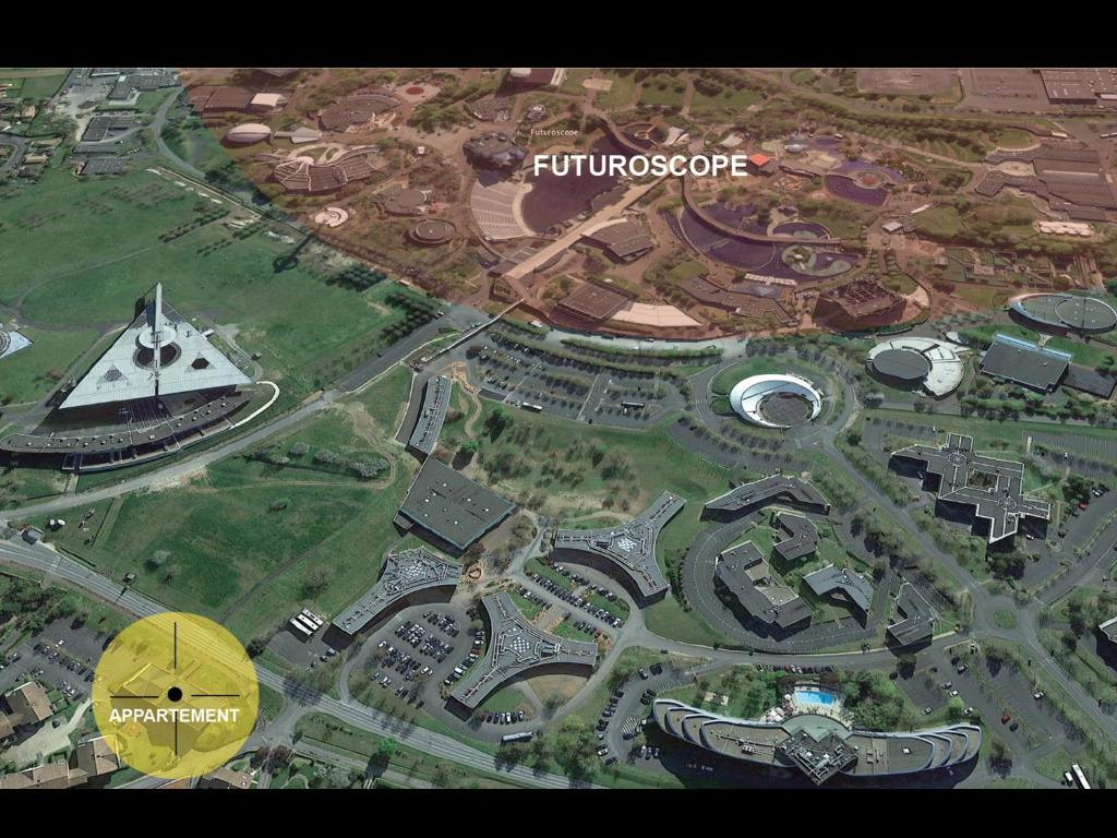 Appart h tel futuroscope poitiers jaunay clan france for Location appart hotel france