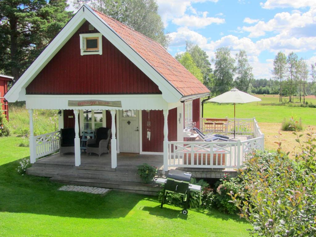 Uteplats på Rensmurs Bed & Breakfast
