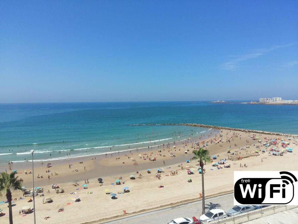 playas cadiz espana